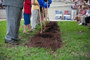 First Pres Breaks Ground for Children's Ministry Center