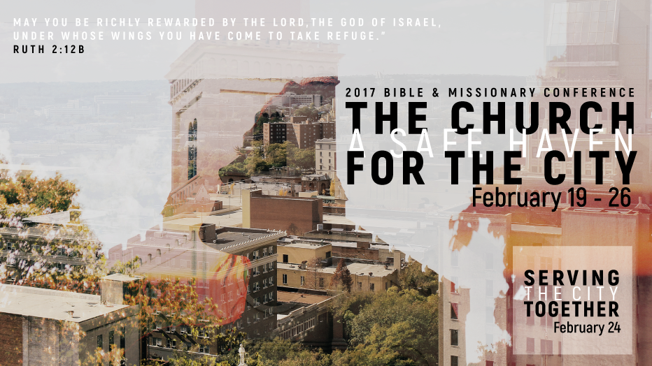 The Church: A Safe Haven for the City; BMC 2017